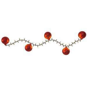 Hemsson LED světelný řetěz 2v1, Cranberry red, 700 LED