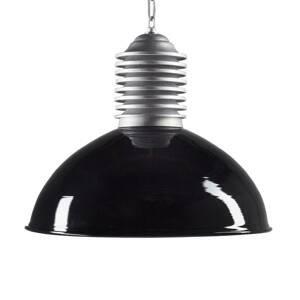 K. S. Verlichting Venkovní závěsné světlo Carla hliník/černá