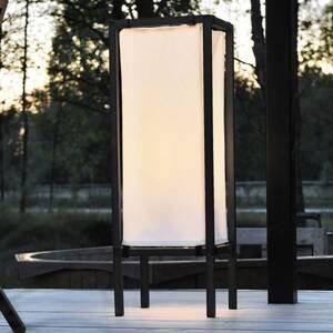 Konstmide Moderní stojací lampa NEW PALERMO s tkaninou