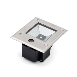 Konstmide Dale LED podlahový spot 6 W senzor soumraku