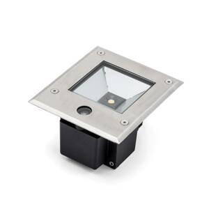 Konstmide Dale LED podlahový spot 12 W senzor soumraku