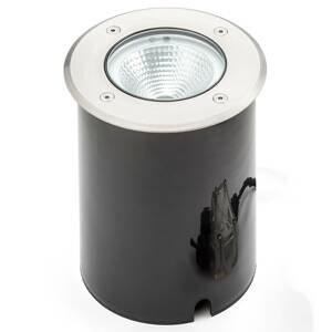 Konstmide Tuva - LED podlahový spot v kulatém tvaru, IP65