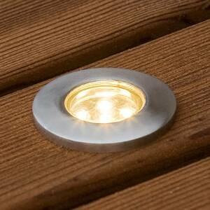 Konstmide Mini LED podlahový reflektor sada 6ks plochý