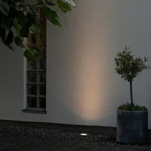 Konstmide LED podlahové vestavné světlo 7876, bílá