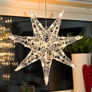 Konstmide CHRISTMAS 6110-103 Vánoční hvězdy