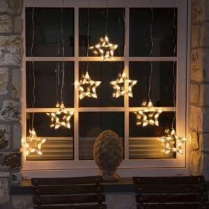 Konstmide CHRISTMAS LED světelný závěs Hvězdy 70 zdrojů