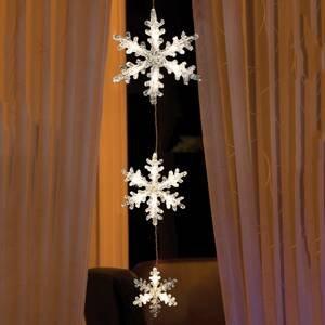 Konstmide CHRISTMAS LED světelný řetěz sněhové vločky