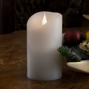 Konstmide CHRISTMAS Věrohodné LED svíčky pravý vosk plamen 3D