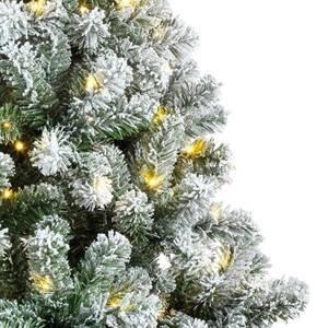 Kaemingk LED strom Imperial vnitřní zelená/bílá, 210 cm