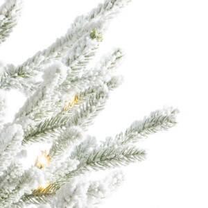 Kaemingk LED strom Norway v květináči, baterie, bílá 90 cm