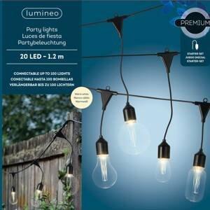 Kaemingk LED světelný řetěz 490150 4 tvar žárovky