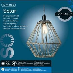 Kaemingk LED solární závěsné světlo 894176 písková