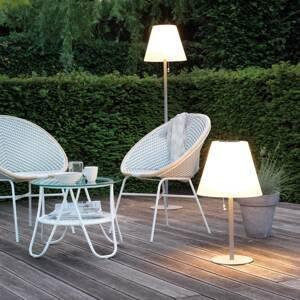 Kaemingk LED solární stojací lampa 894547, kovový stojan