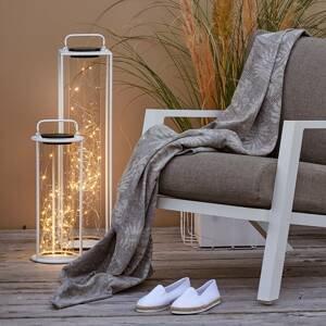 Kaemingk LED solární stojací lampa 897535 42 cm, bílá