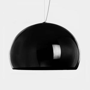 Kartell Kartell FL/Y - LED závěsné světlo, černá lesklá