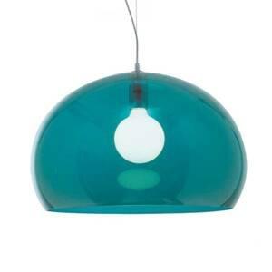 Kartell Kartell Big FL/Y - LED závěsné světlo, modrá