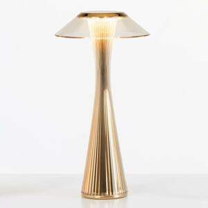 Kartell Kartell Space - LED designová stolní lampa, zlatá