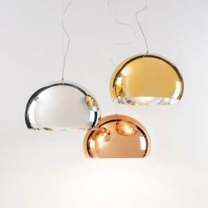 Kartell Kartell FL/Y - LED závěsné světlo, lesklá měď