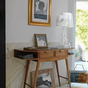 Kartell Kartell Bourgie - LED stolní lampa, průhledná