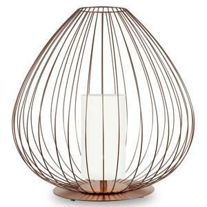 Karman Karman Cell - klecová stojací lampa, 62 cm, bronz