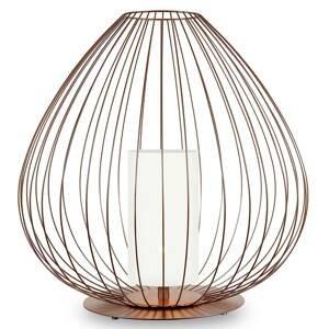Karman Karman Cell - klecová stojací lampa, bronz, Ø84cm