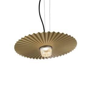 Karman Karman Gonzaga LED závěsné světlo, Ø 42 cm, mosaz