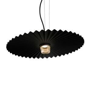 Karman Karman Gonzaga LED závěsné světlo, Ø 59 cm, černá