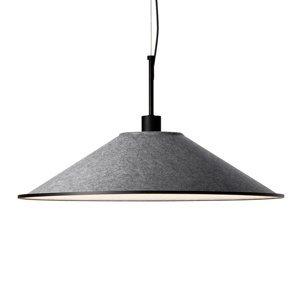 GROK Grok Shoemaker LED závěsné světlo kulaté antracit
