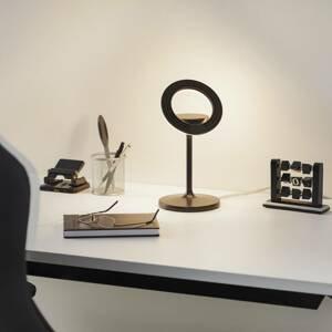 LTS LED stolní lampa Filigree, otočná/naklápěcí, černá