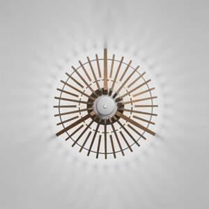 ATELJE LYKTAN Terasové světlo Tipi z jasanového dřeva, 73,8 cm