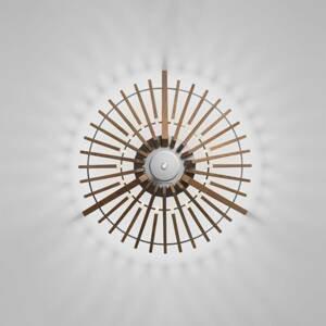 ATELJE LYKTAN Terasové světlo Tipi z jasanového dřeva, 52,7 cm