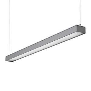 GLamOX LED závěsné světlo Reed-1500 MP, 4000 K, šedá