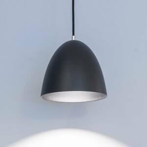 GLamOX LED závěsné světlo Eas, Ø 24 cm, 3000 K, černá
