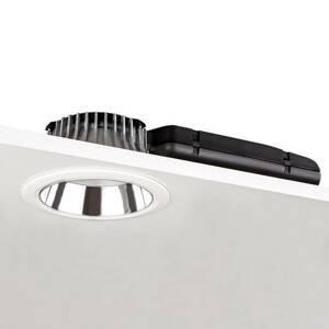 GLamOX Downlight D70-RF155 DALI stříbrná/bílá 3000K 14W