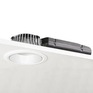 GLamOX LED downlight D70-RF155 HF 4000K bílá/bílá
