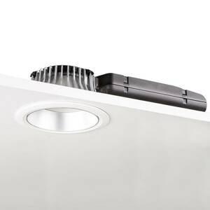 GLamOX LED downlight D70-RF155 HF 3000K bílá/stříbrná