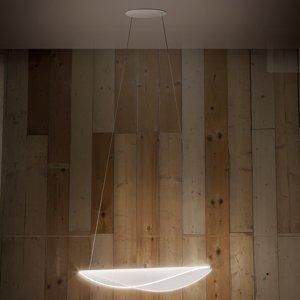 Linea Light LED závěsné světlo Diphy, 76 cm, DALI stmívač