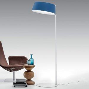 Linea Light LED stojací lampa Oxygen_FL2, azurová modrá