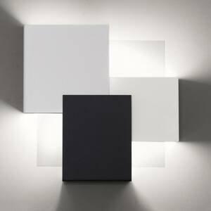 Lam LED nástěnné světlo Gustav 8060/A02 černá, bílá