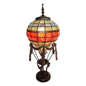 Clayre & Eef Dekorační světlo 6016, balón, styl Tiffany