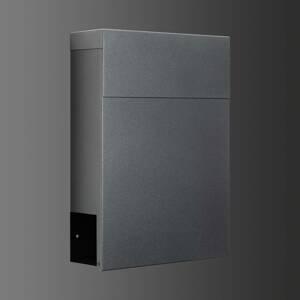 LCD Poštovní schránka 3030, přihrádka na noviny grafit