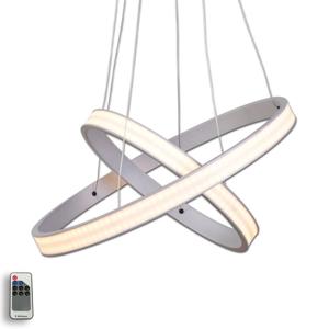 Lis Poland Závěsné LED svítidlo Largo průměr 45 cm hliník