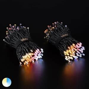 Twinkly LED světelný řetěz Twinkly CCT, 250x, 20 m černá