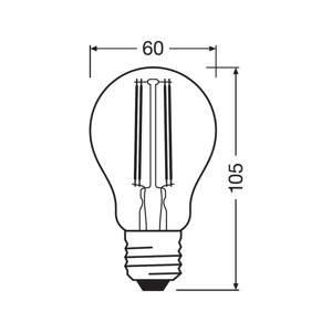 LEDVANCE SMART+ LEDVANCE SMART+ WiFi Filament E27 5,5W 827 Classic