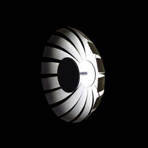 Marchetti LED designové stropní světlo Loto, antracit, 20 cm
