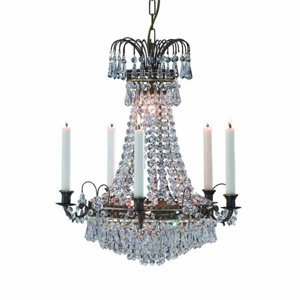 Markslöjd Okázalý svíčkový lustr Lacko 48 cm