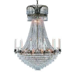 Markslöjd Okázalý svíčkový lustr Lacko 92 cm