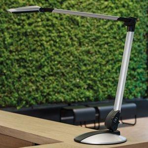 Jakob Maul LED stolní lampa Optimus s plochou základnou