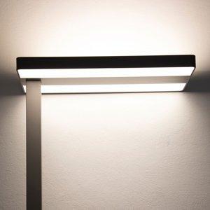 Jakob Maul LED stojací lampa MAULjaval se svorkou a stmívačem