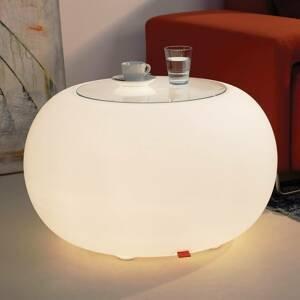 Moree Stůl BUBBLE Indoor E27 svítidlo + skleněná deska